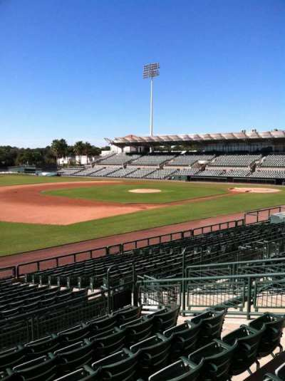 Ed Smith Stadium, sección: 223, fila: 7, asiento: 12