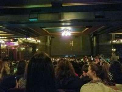 Lyric Theatre, sección: ORCHL, fila: Y, asiento: 17
