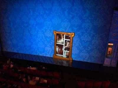 Walter Kerr Theatre, sección: MezzR, fila: A, asiento: 6