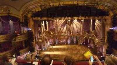 Richard Rodgers Theatre, sección: Front mezzanine center, fila: E, asiento: 107