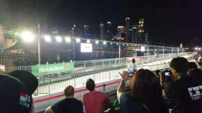 Singapore Street Circuit, sección: Bay Grandstand - Dark Green, fila: 13, asiento: 13