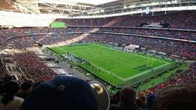 Wembley Stadium, sección: 504, fila: 17, asiento: 95