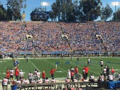 Rose Bowl, sección: 18-L, fila: 14, asiento: 17