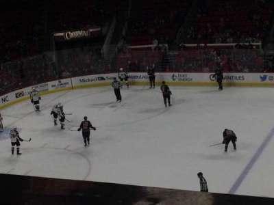 PNC Arena, sección: 220, fila: A