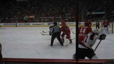 PNC Arena, sección: 116, fila: C