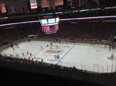 PNC Arena, sección: 302, fila: A, asiento: 12
