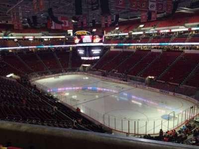 PNC Arena, sección: 216, fila: D, asiento: 5
