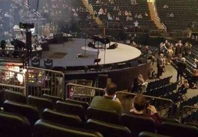 Madison Square Garden, sección: 115, fila: 9, asiento: 7