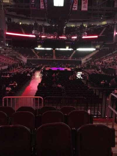 Philips Arena, sección: 121, fila: E, asiento: 2