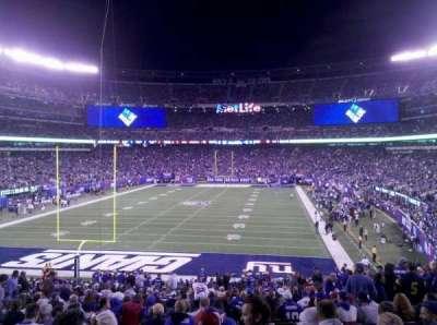 MetLife Stadium, sección: 124, fila: 37