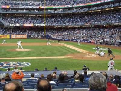 Yankee Stadium, sección: 123, fila: 16, asiento: 5