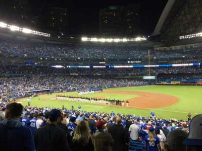 Rogers Centre, sección: 114R, fila: 37, asiento: 1