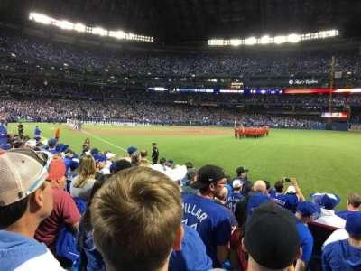 Rogers Centre, sección: 113DL, fila: 10, asiento: 1