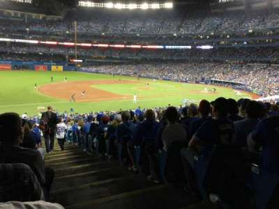 Rogers Centre, sección: 129L, fila: 40, asiento: 1