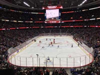 Canadian Tire Centre, sección: 215, fila: B, asiento: 6