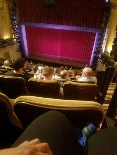 Samuel J. Friedman Theatre, sección: Mezz, fila: F, asiento: 121