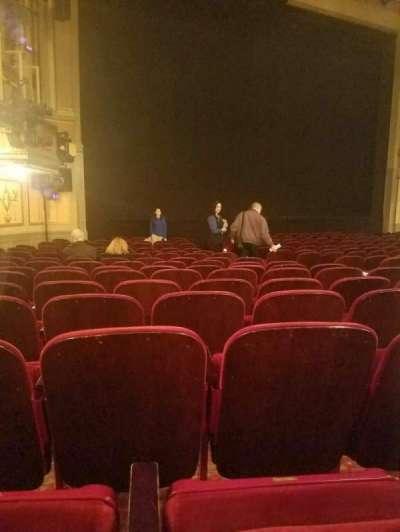 Neil Simon Theatre, sección: orch, fila: o, asiento: 15