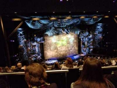 Gershwin Theatre, sección: Lmezz, fila: G, asiento: 17