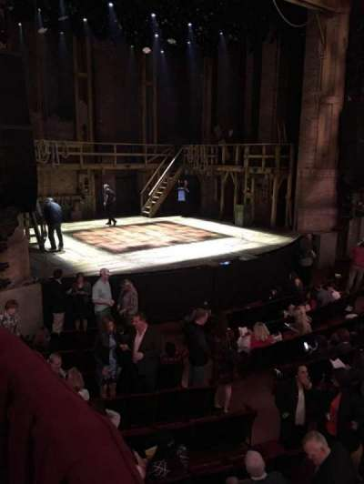 PrivateBank Theatre, sección: Dress Circle Box 1, fila: BX1, asiento: 205