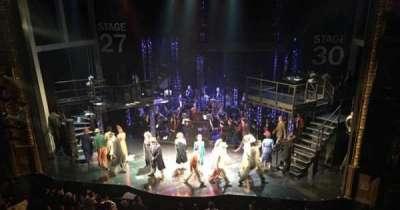 Palace Theatre (Broadway), sección: Mezzanine, fila: B, asiento: 114