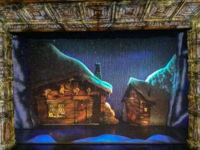 St. James Theatre, sección: Mezzanine, fila: A, asiento: 107