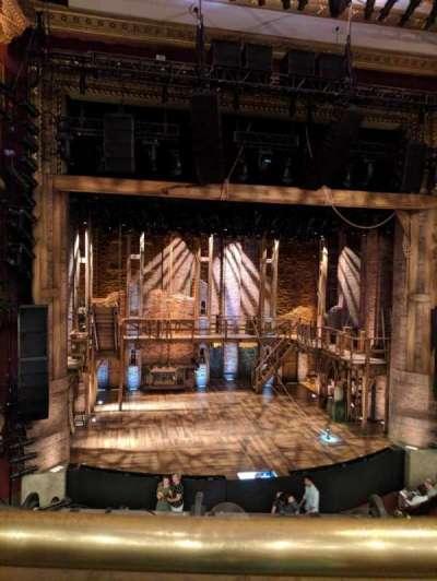 CIBC Theatre, sección: Mezzanine LC, fila: A, asiento: 313