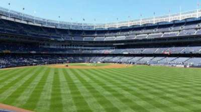 Yankee Stadium sección 201