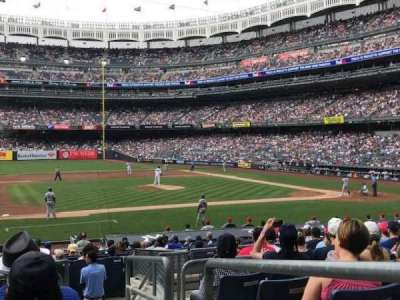 Yankee Stadium, sección: Field MVP 125, fila: 10, asiento: 1