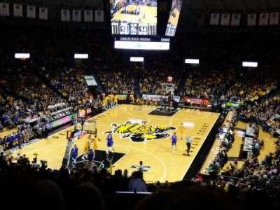 Charles Koch Arena, sección: 115, fila: 29