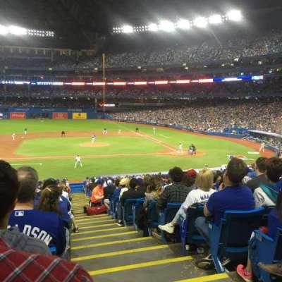 Rogers Centre, sección: 126L, fila: 39, asiento: 101