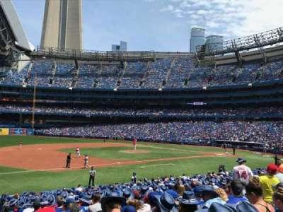 Rogers Centre, sección: 129L, fila: 24, asiento: 101