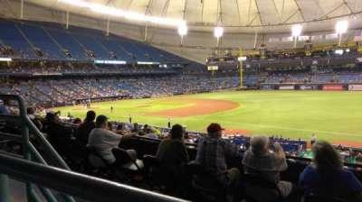Tropicana Field, sección: 130, fila: PP, asiento: 15