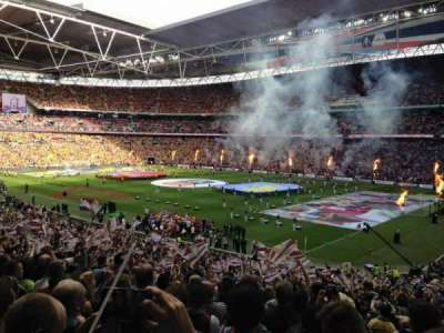 Wembley Stadium, sección: 139, fila: 40, asiento: 170