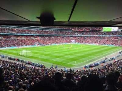 Wembley Stadium, sección: 129, fila: 44, asiento: 199
