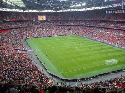 Wembley Stadium, sección: 544, fila: 15, asiento: 124