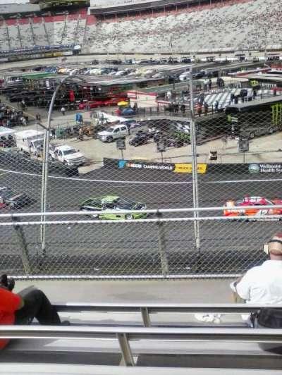 Bristol Motor Speedway, sección: Z, fila: 6, asiento: 11