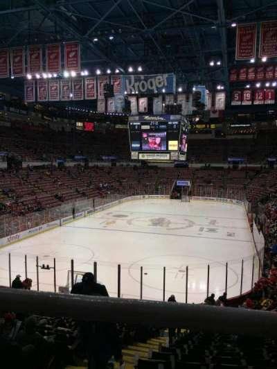 Joe Louis Arena, sección: 227B, fila: 1, asiento: 15
