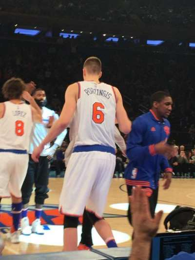 Madison Square Garden, sección: 5, fila: 2, asiento: 4