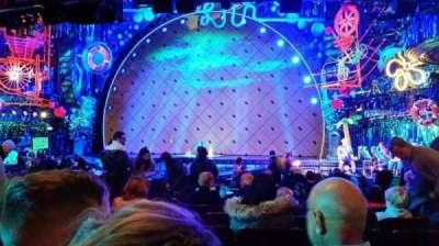 Palace Theatre (Broadway), sección: Orch, fila: S , asiento: 123
