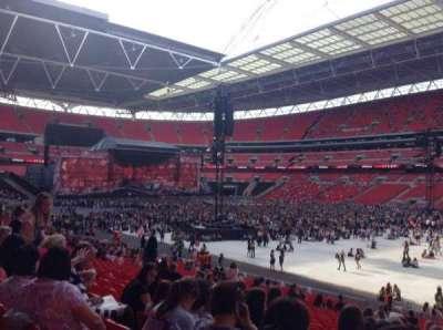 Wembley Stadium, sección: 118, fila: 28, asiento: 201