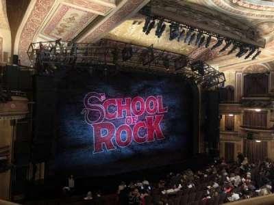 Winter Garden Theatre, sección: MezzC, fila: A, asiento: 126