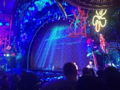 Palace Theatre (Broadway), sección: Orch Right, fila: L, asiento: 6