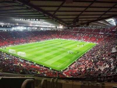 Old Trafford, sección: NE3425, fila: 22, asiento: 114