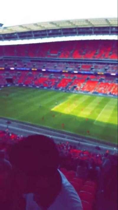 Wembley Stadium, sección: 520