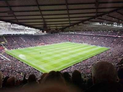 Old Trafford, sección: NE3421, fila: 26, asiento: 75