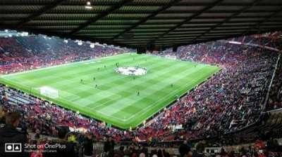 Old Trafford, sección: NE3425, fila: 25, asiento: 114