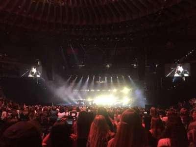 Oracle Arena, sección: D, fila: 10, asiento: 11
