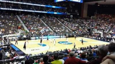 Jacksonville Veterans Memorial Arena, sección: 105, fila: T, asiento: 11