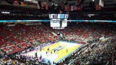 PNC Arena, sección: 209, fila: C, asiento: 2