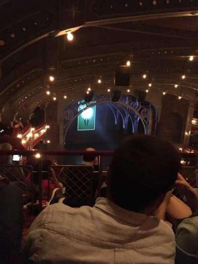 Lyric Theatre, sección: BALCL, fila: D, asiento: 19